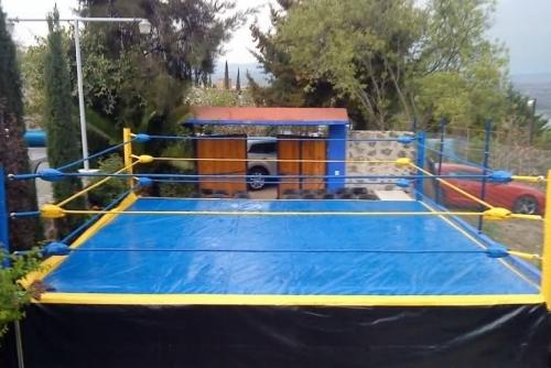 Un ring de lucha libre por pleitos financieros